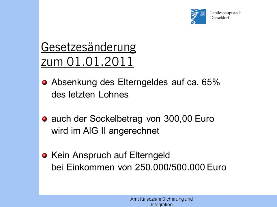elterngeld düsseldorf