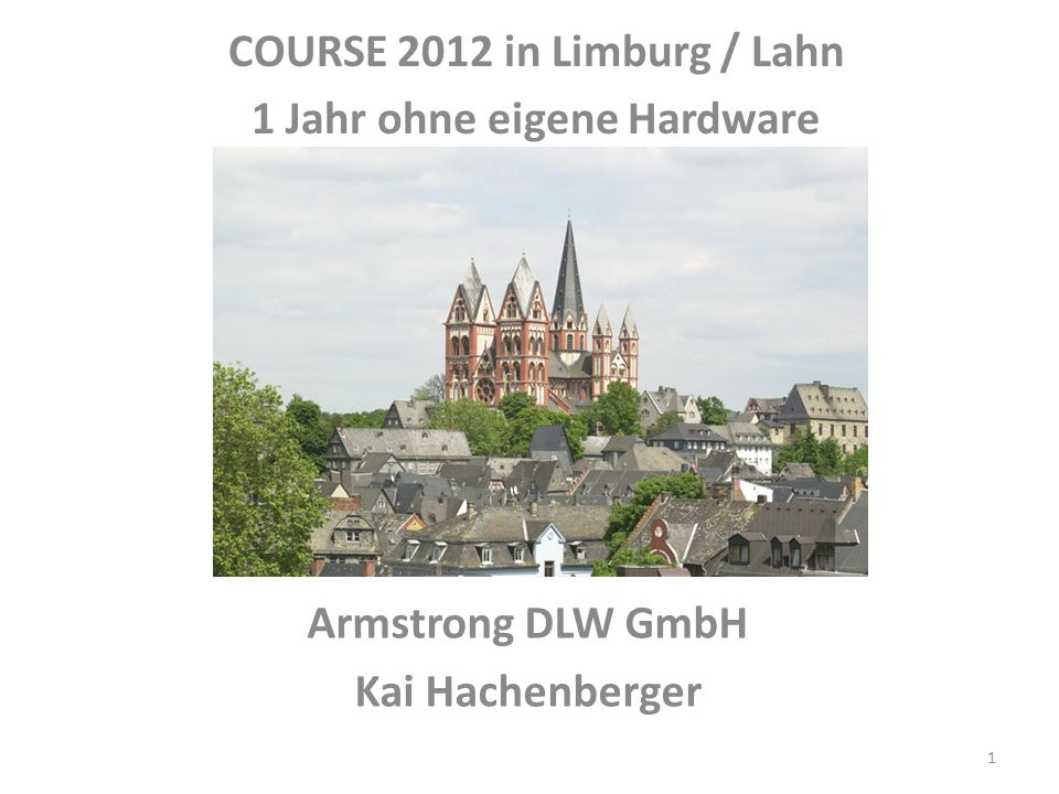 Armstrong DLW GmbH Kai Hachenberger
