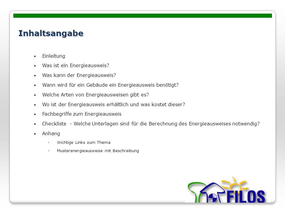 Energieausweis Typenschein Furs Haus Ing Stefan Filzwieser Ppt