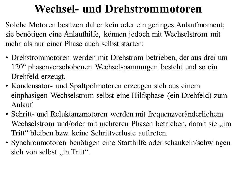 Drehstrommotoren Spulenanordnung des Stators - ppt video online ...
