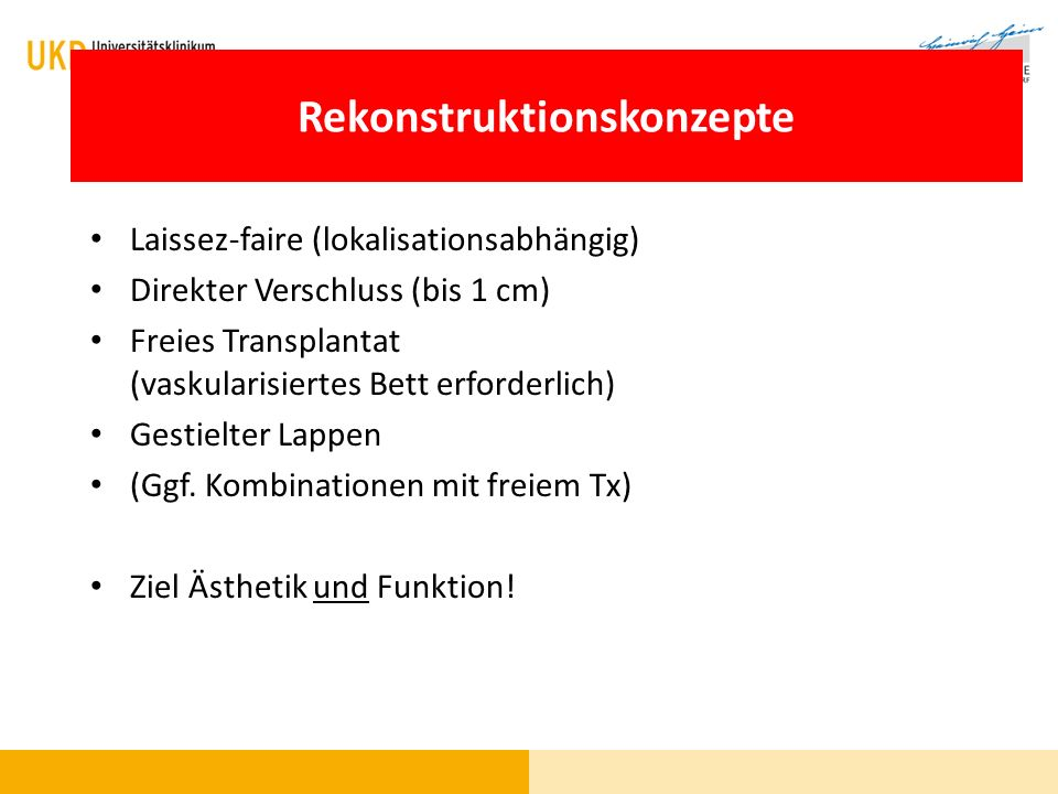 Rekonstruktion - Techniken