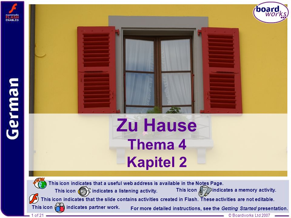 Zu Hause Thema 4 Kapitel 2 Photo © 2007 Jupiterimages Corporation.