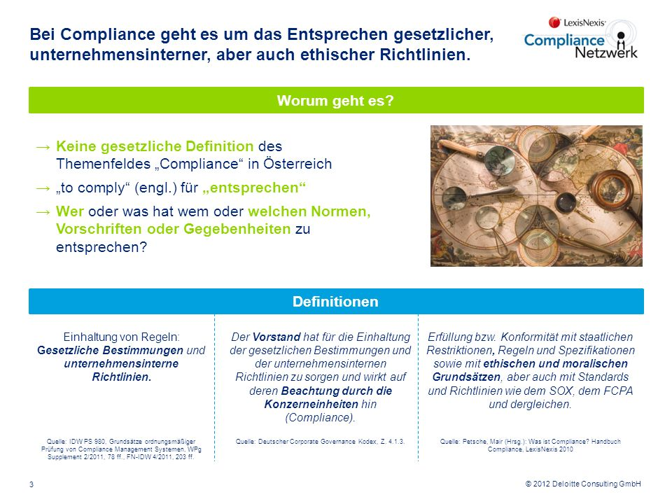 Quelle: Deutscher Corporate Governance Kodex, Z. 4.1.3.