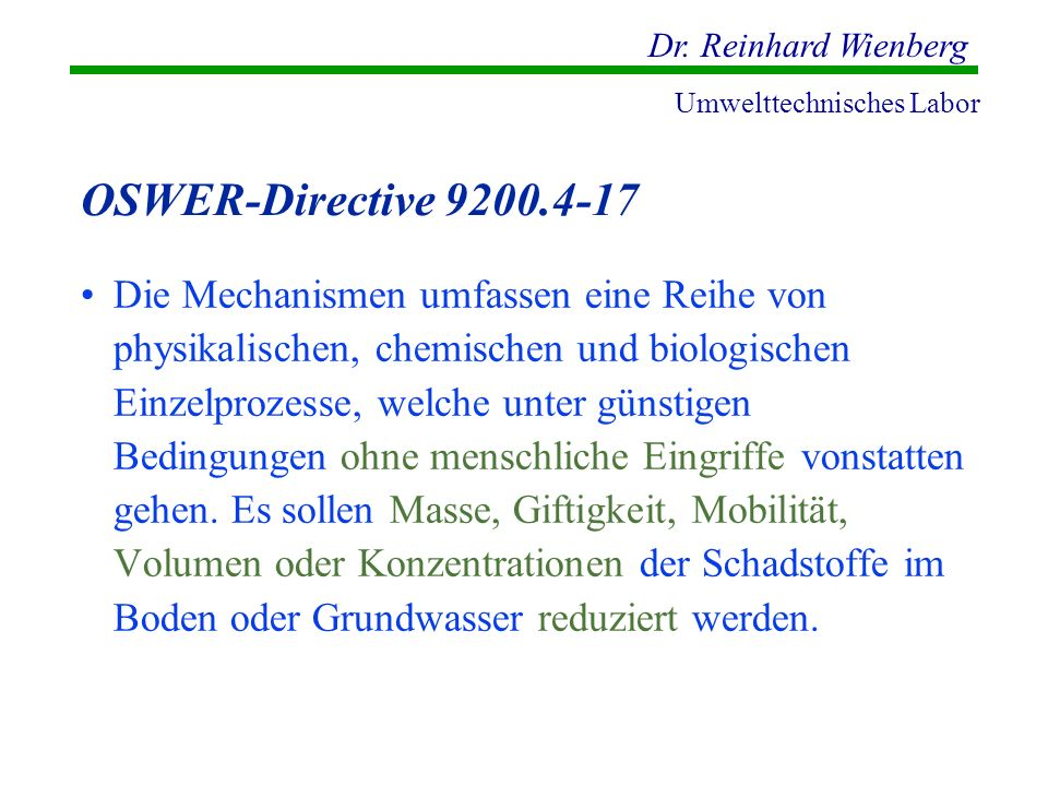 OSWER-Directive 9200.4-17