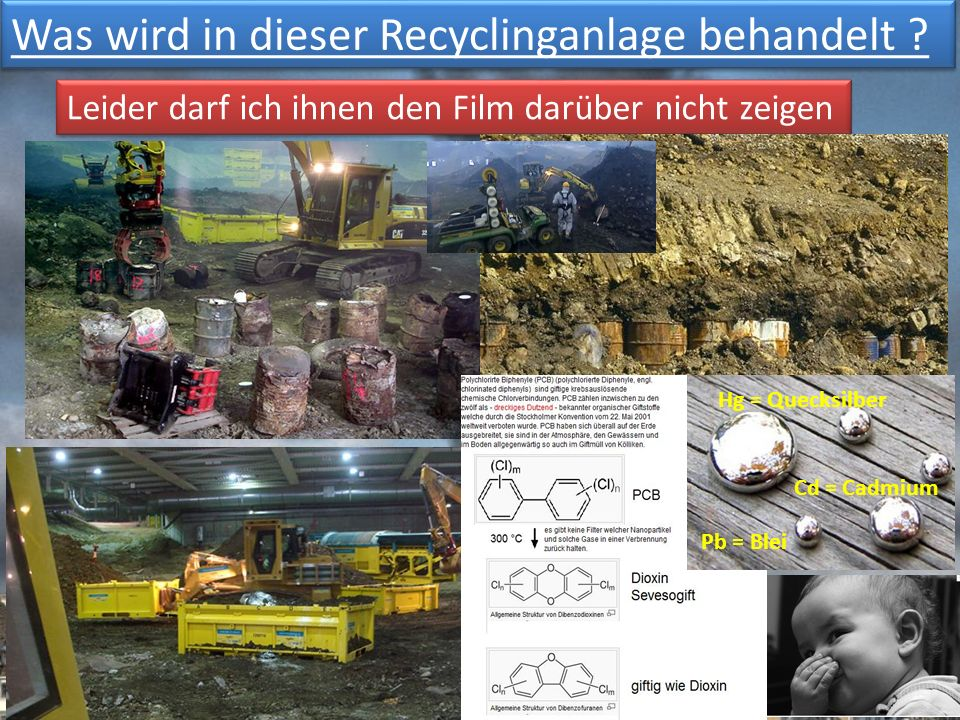 Was wird in dieser Recyclinganlage behandelt