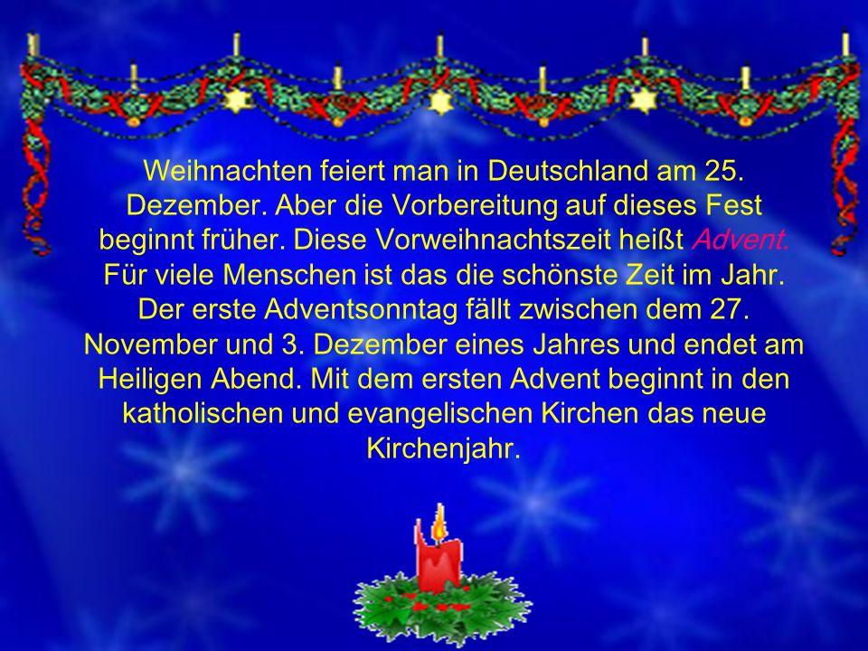 Weihnachtsreise nach Deutschland - ppt herunterladen