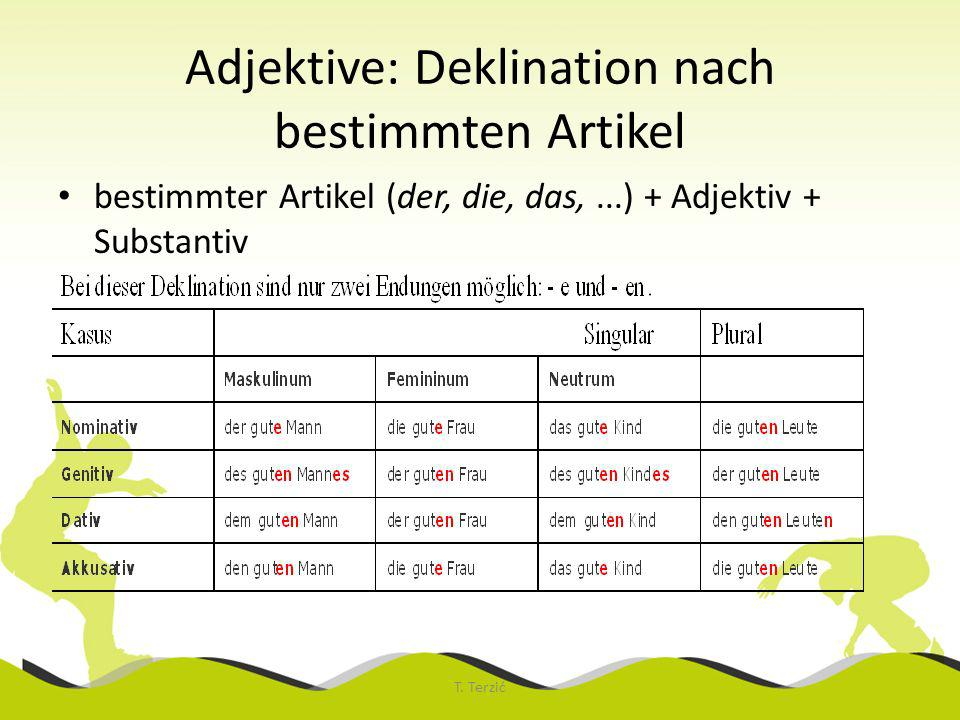 Adjektivdeklination Ppt Video Online Herunterladen