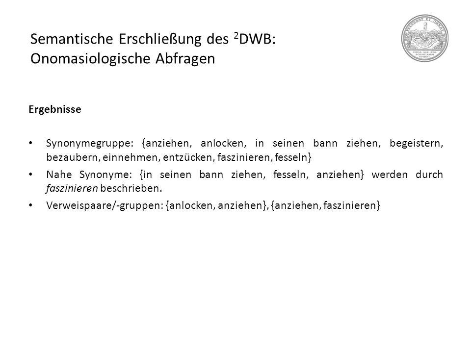 Das Deutsche Wörterbuch Als Quelle Für Die Historische Semantik