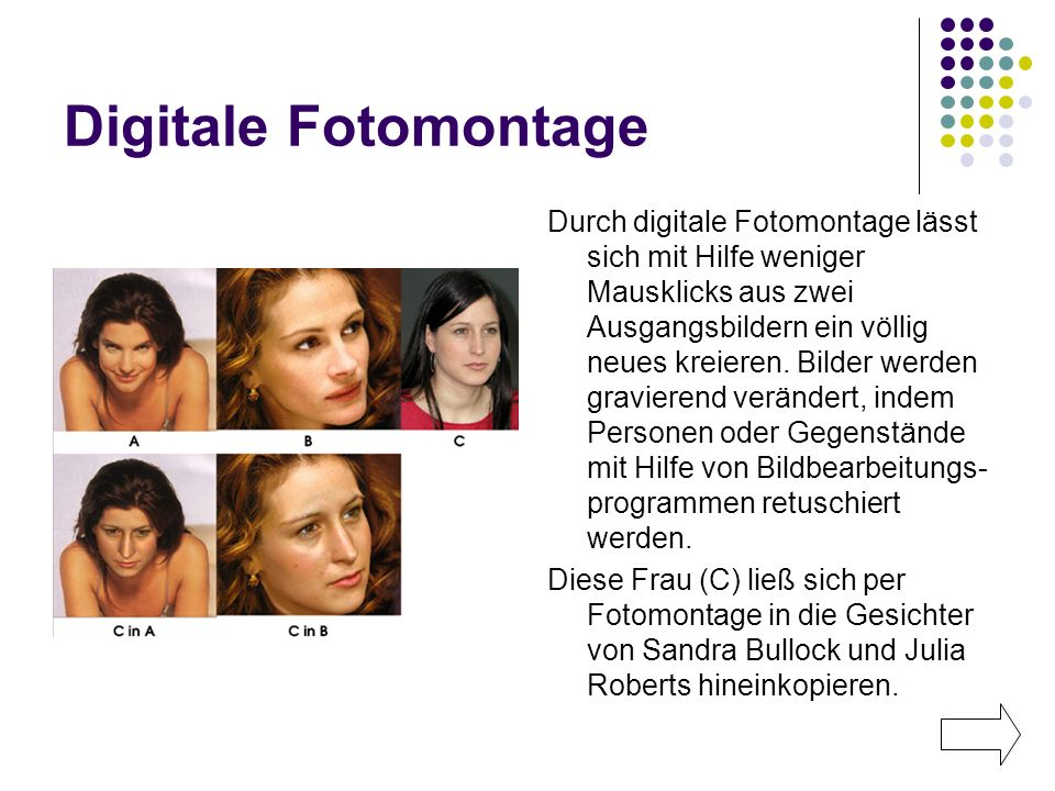 Digitale Fotomontage
