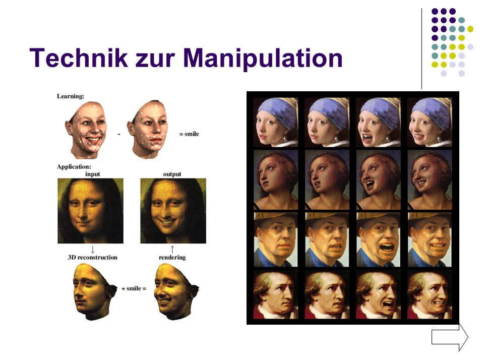 Technik zur Manipulation