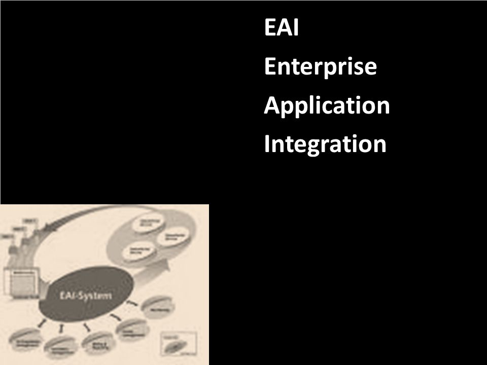 EAI Enterprise Application Integration PROJECT CONSULT