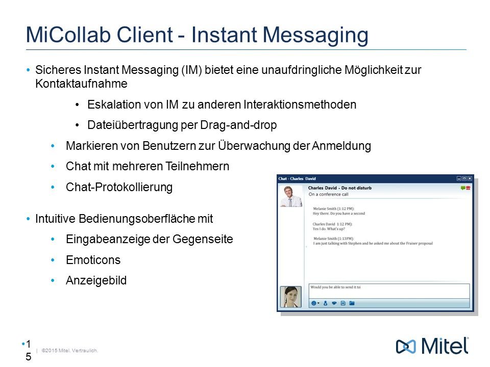 MiCollab Client - Instant Messaging