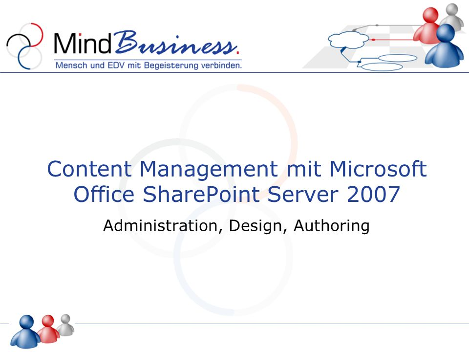 Content Management mit Microsoft Office SharePoint Server 2007