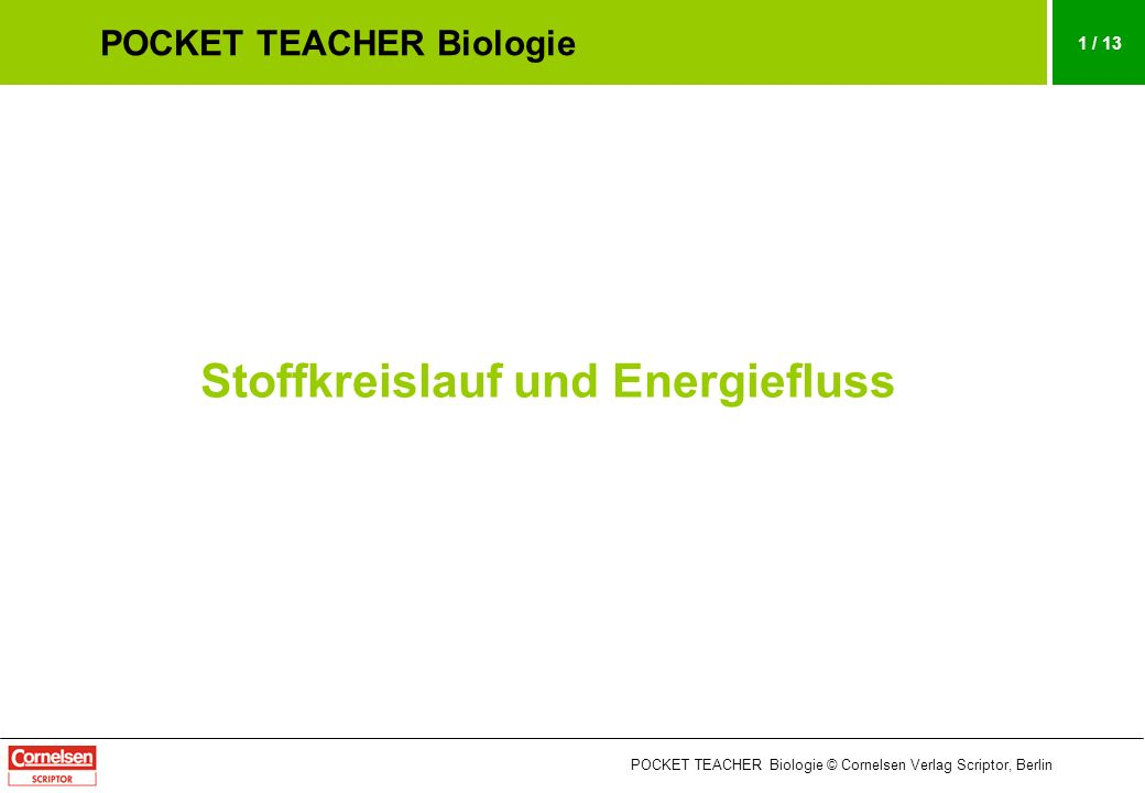 pocket teacher biologie ppt herunterladen. Black Bedroom Furniture Sets. Home Design Ideas