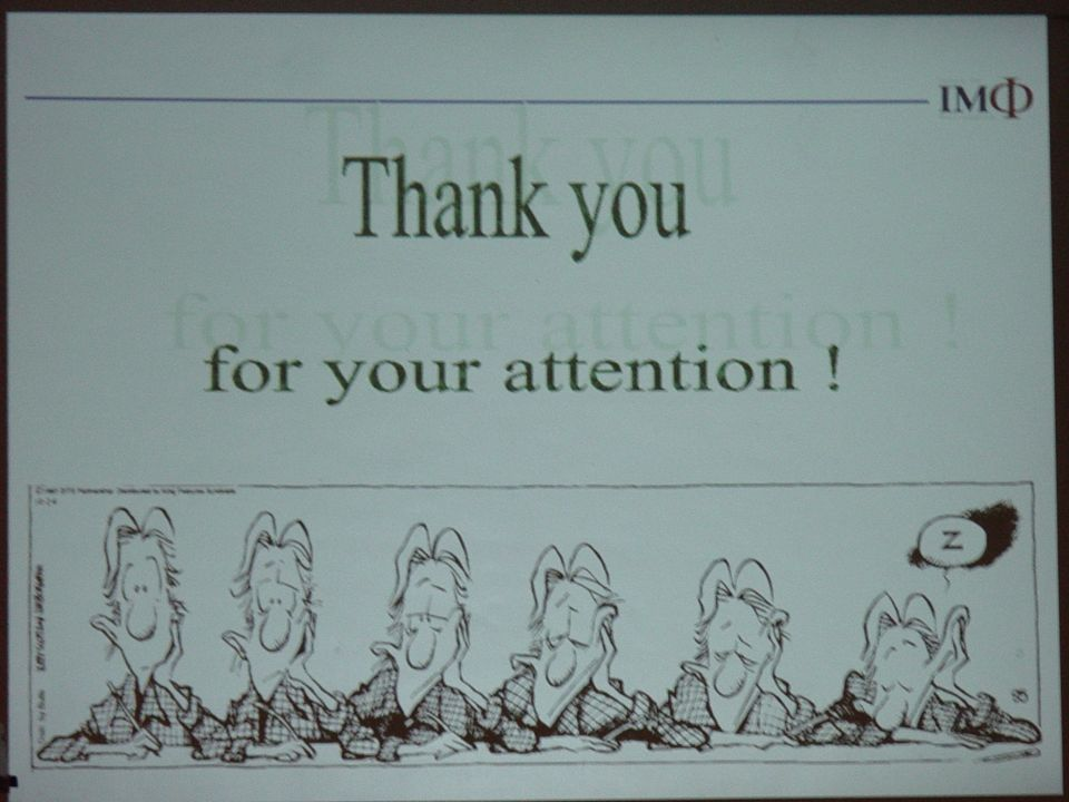 … Thank you for your attention!