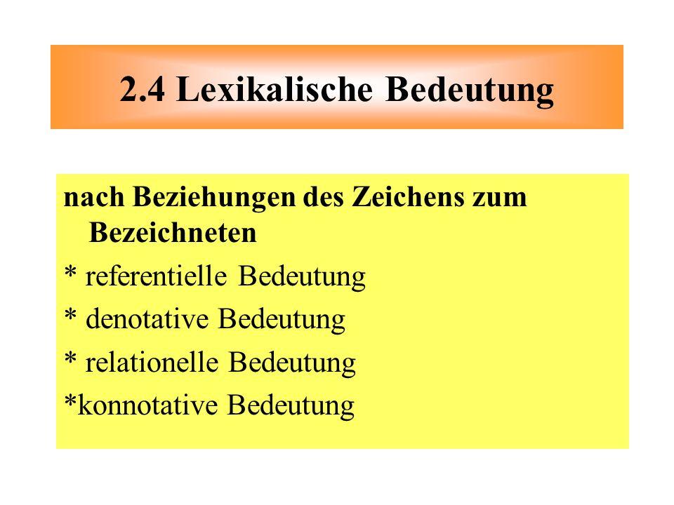 Lexikologie. - ppt herunterladen