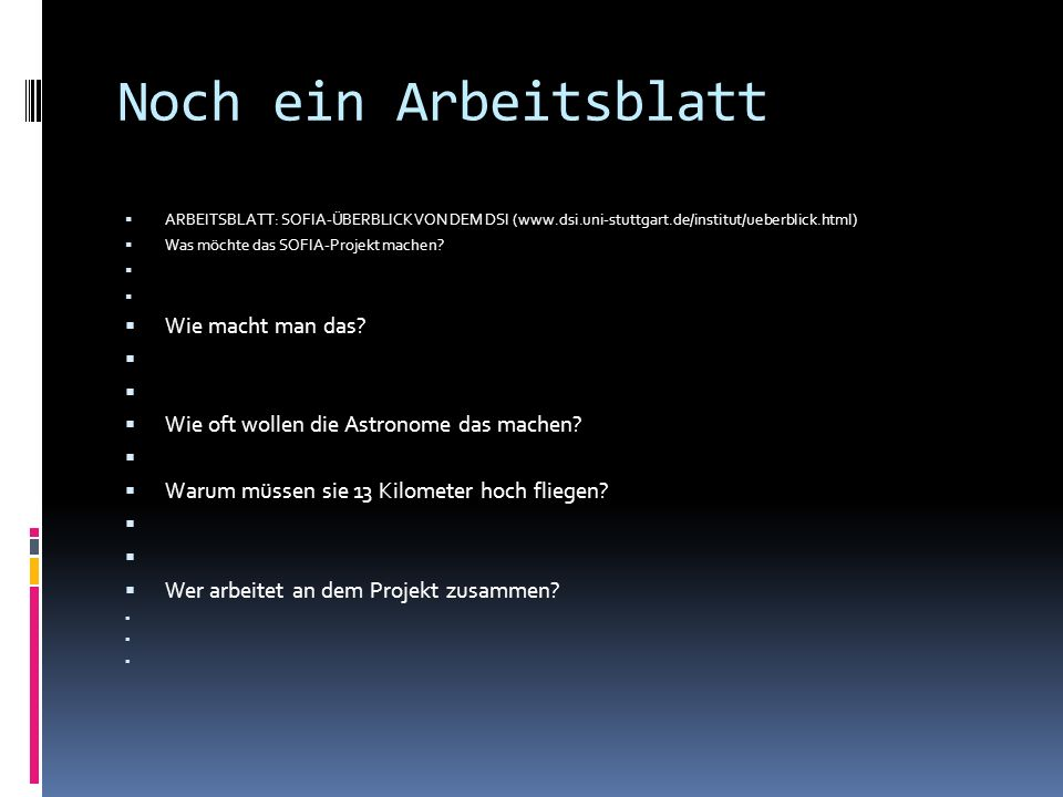 Astronomie im Deutschunterricht - ppt video online herunterladen