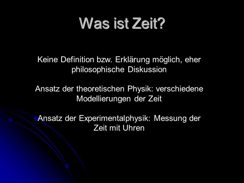 Zeitpfeile in der Physik - ppt herunterladen