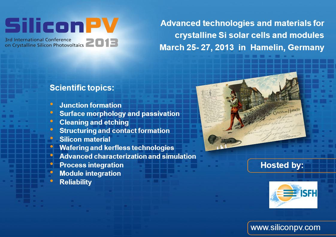 Advanced technologies and materials for