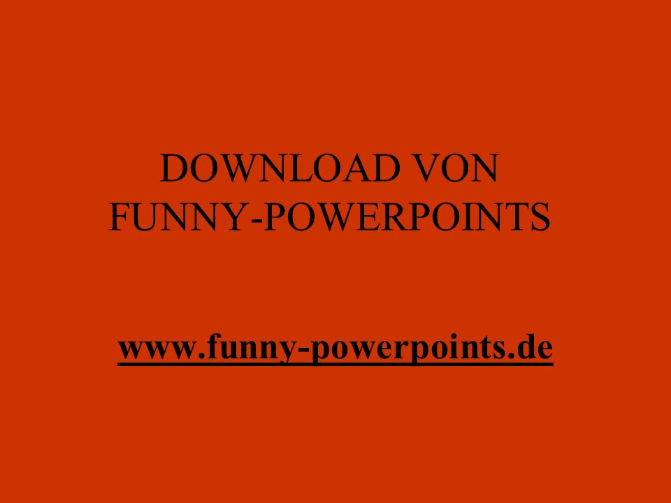 DOWNLOAD VON FUNNY-POWERPOINTS