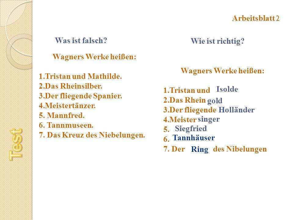 Wilhelm Richard Wagner - ppt herunterladen