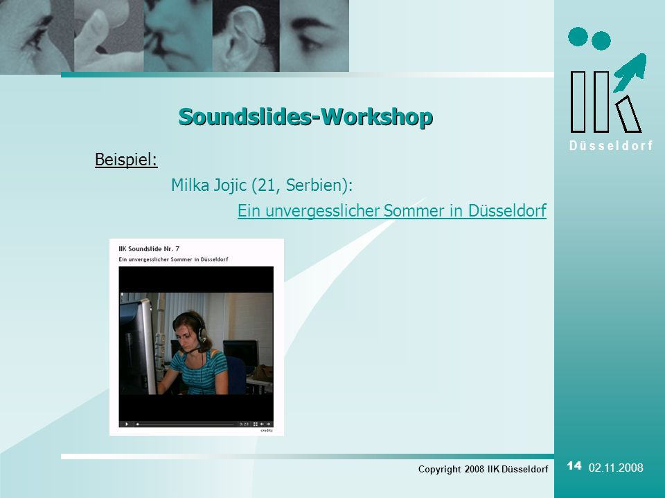 Soundslides-Workshop