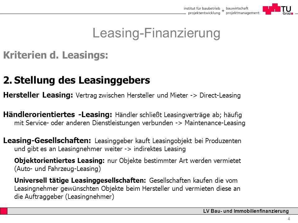 Bau- und Immobilienfinanzierung - ppt video online herunterladen