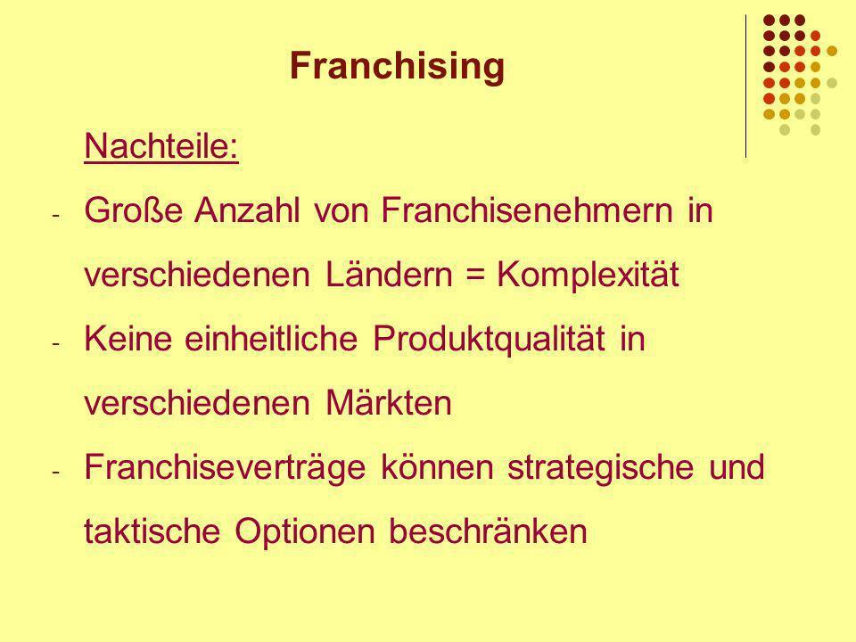 Franchising Unternehmen 9 Erfolgreiche Beispiele
