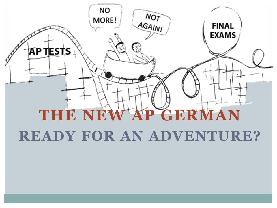 The new AP German Ready for an adventure