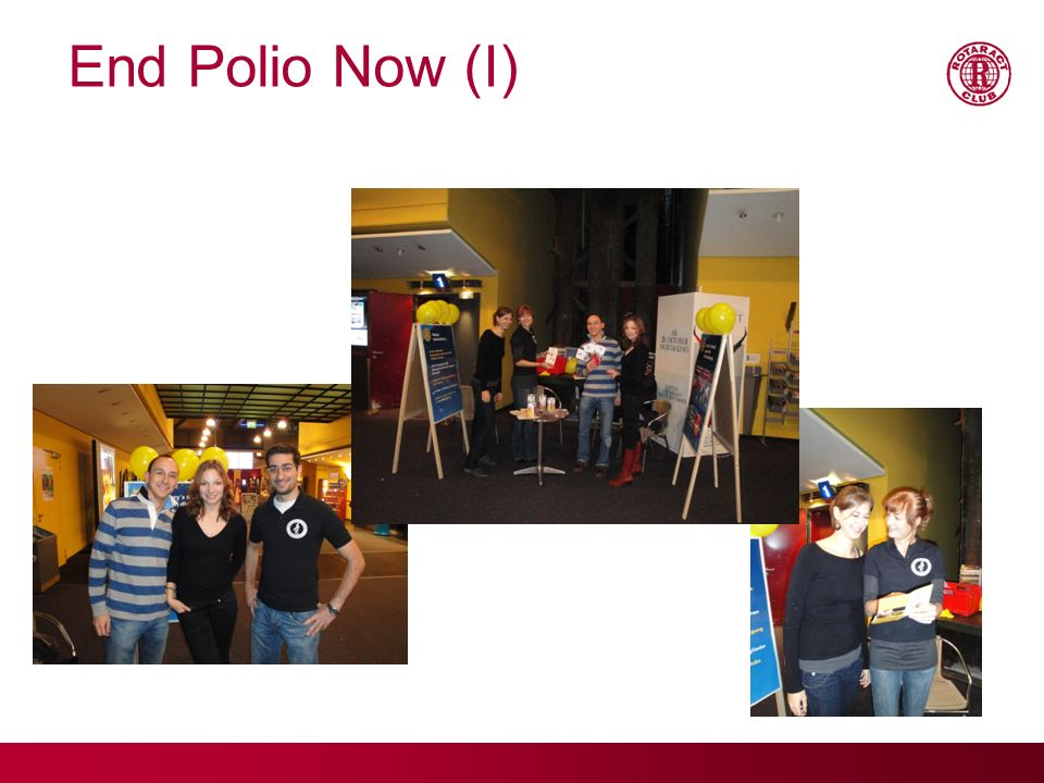End Polio Now (I)