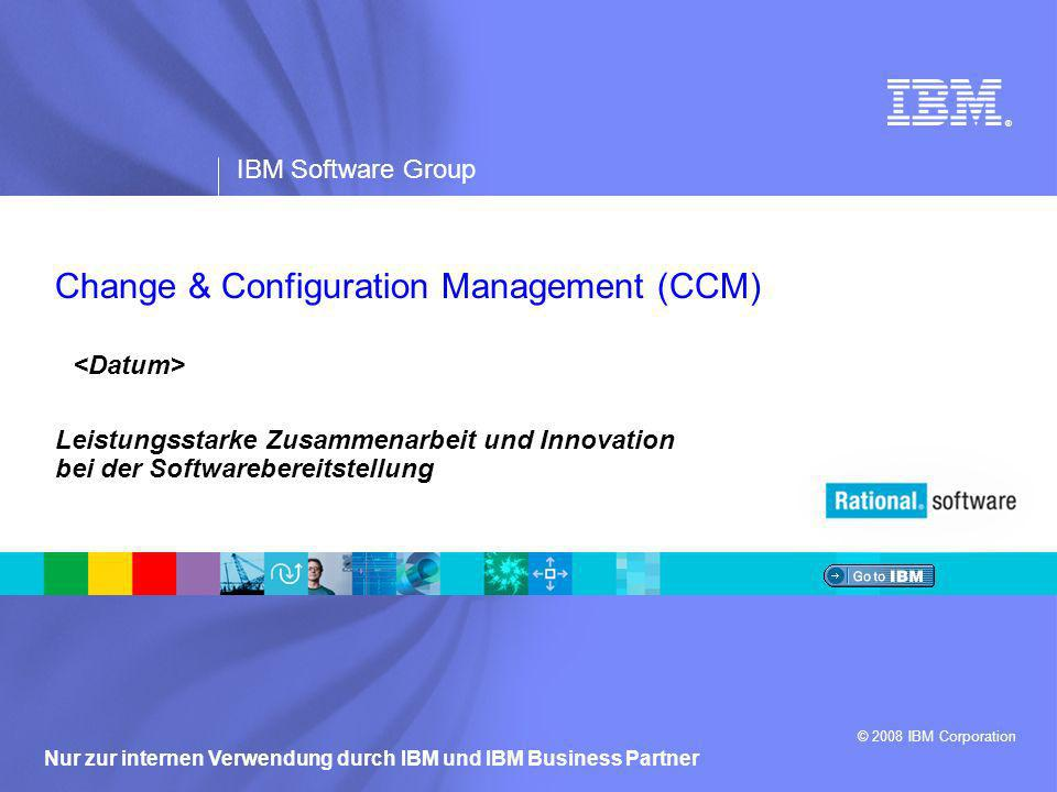 Change & Configuration Management (CCM)
