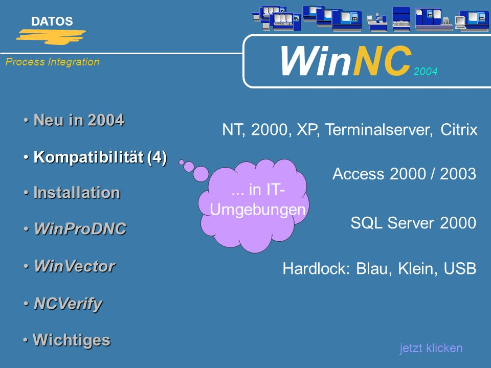 NT, 2000, XP, Terminalserver, Citrix