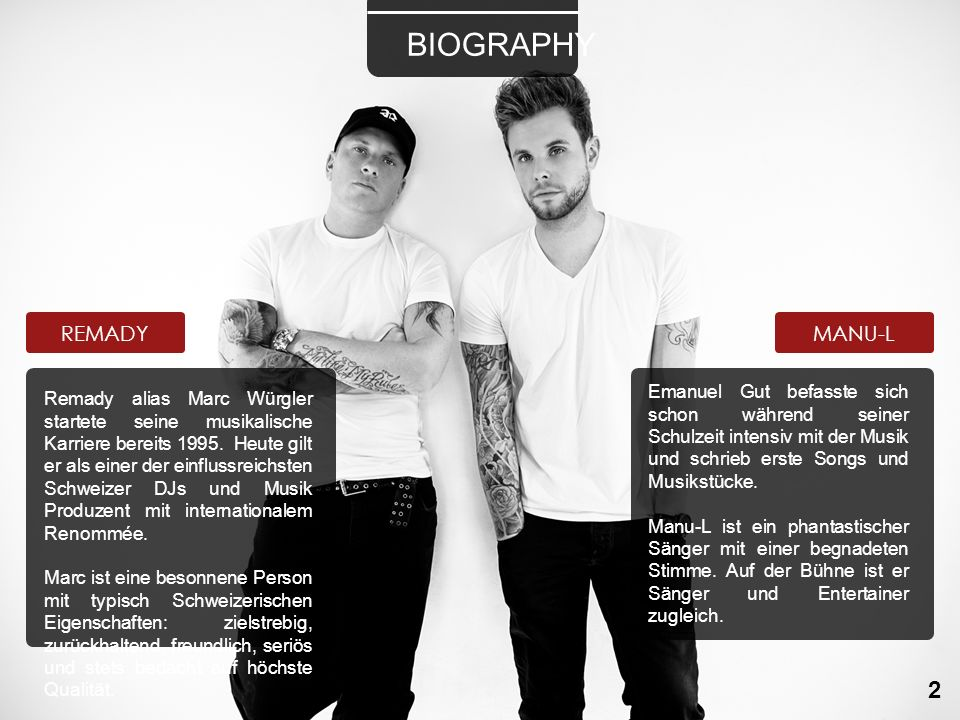 BIOGRAPHY 2 REMADY MANU-L