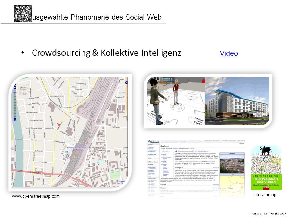 Crowdsourcing & Kollektive Intelligenz
