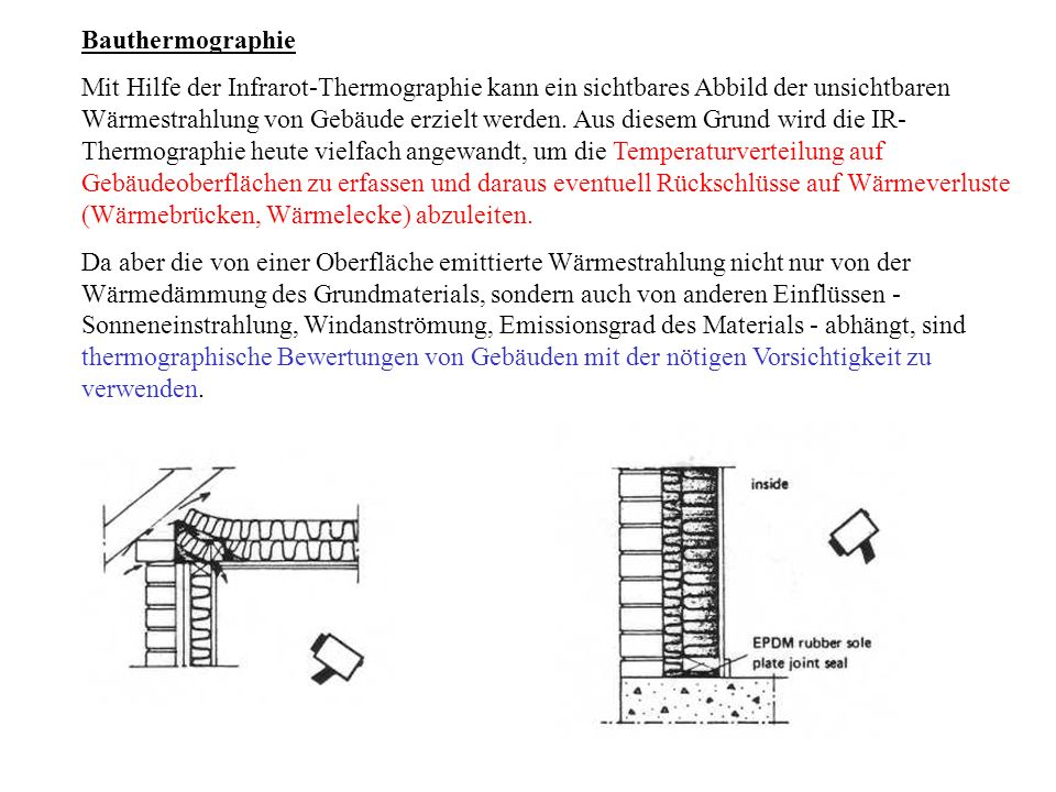 Bauthermographie