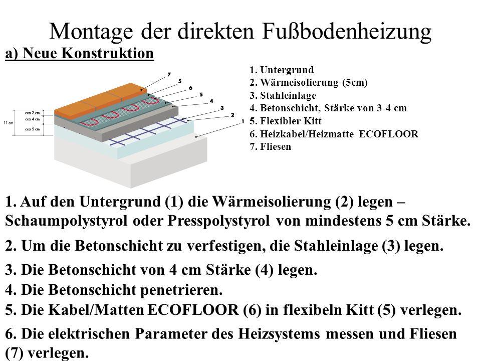 Systeme der Fußbodenheizung - ppt video online herunterladen