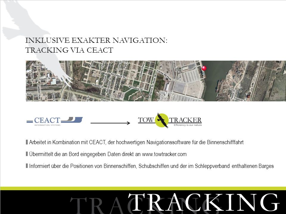 Inklusive exakter Navigation: Tracking via CEACT