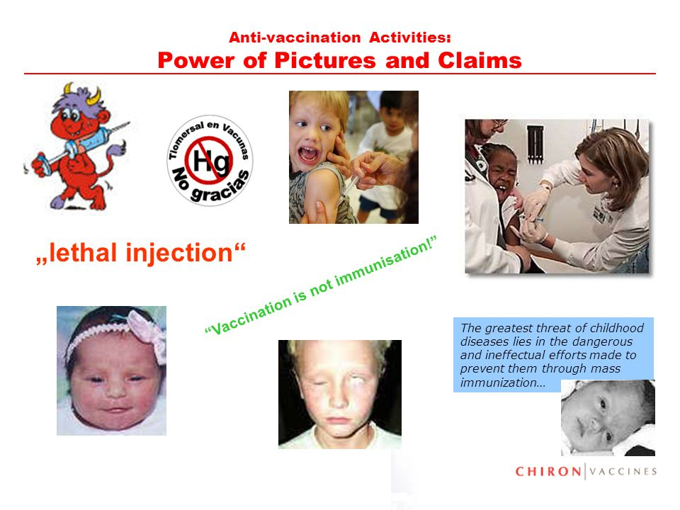 Anti-vaccination Activities: Power of Pictures and Claims