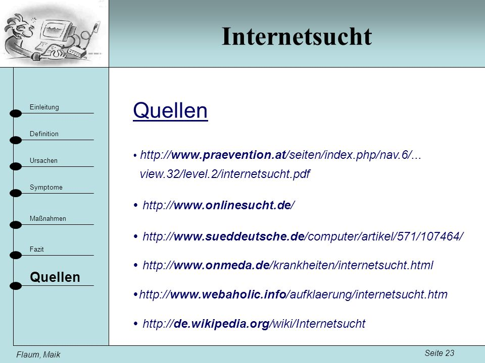 Internetsucht Quellen Quellen view.32/level.2/internetsucht.pdf