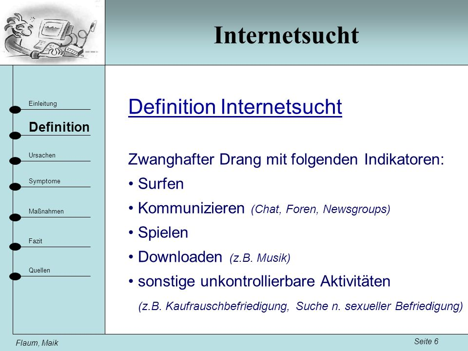 Internetsucht Definition Internetsucht