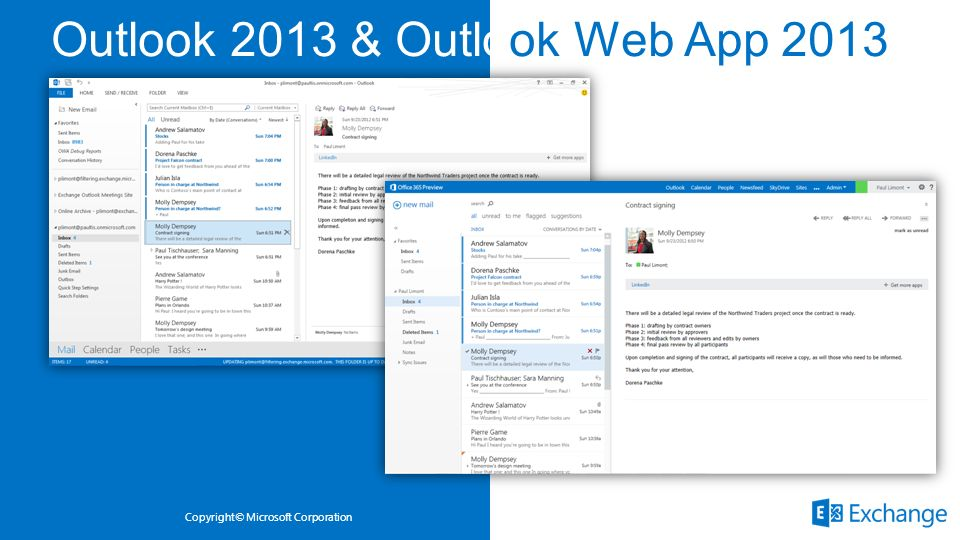Outlook 2013 & Outlook Web App 2013