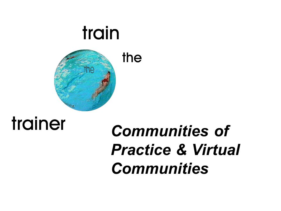 Communities of Practice & Virtual Communities