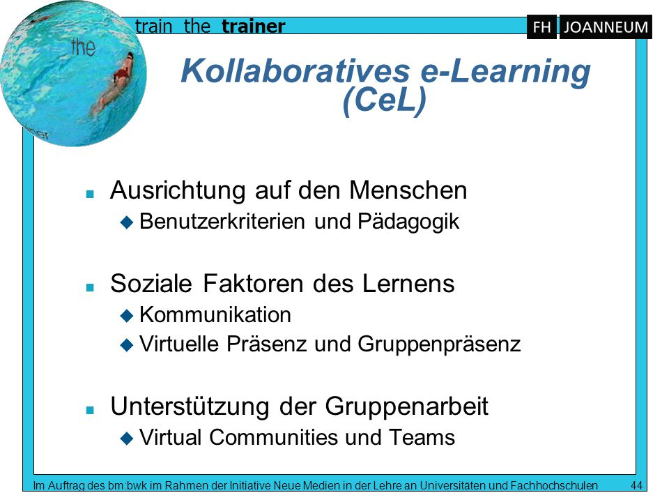Kollaboratives e-Learning (CeL)