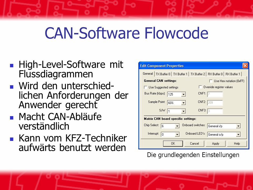 CAN-Software Flowcode