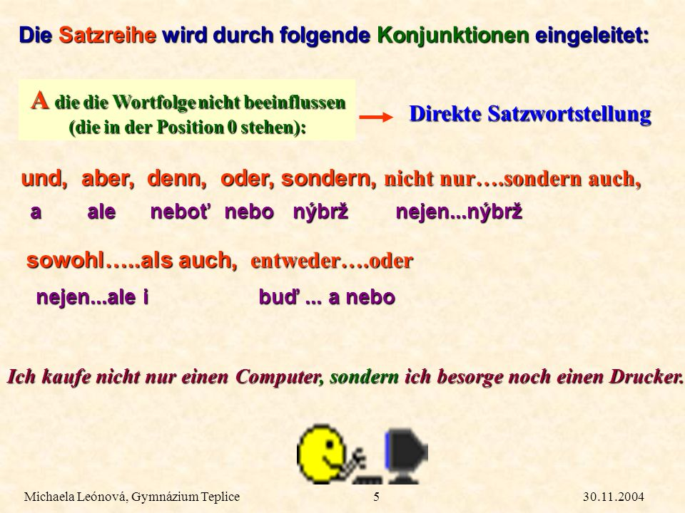 SYNTAX - Regeln zur Satzstellung - ppt herunterladen