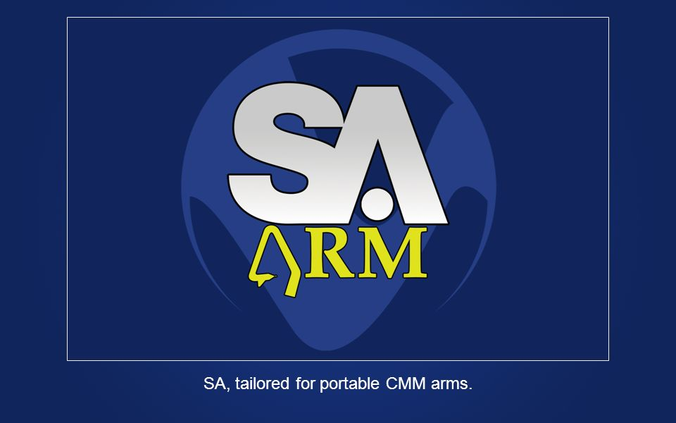 SA, tailored for portable CMM arms.