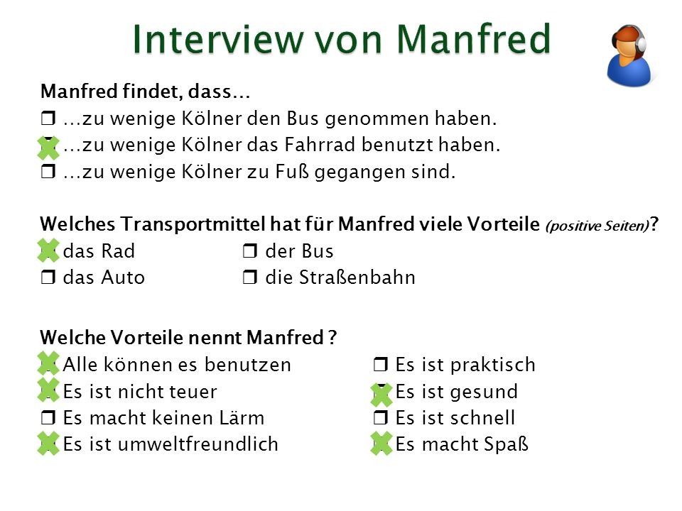 Interview von Manfred