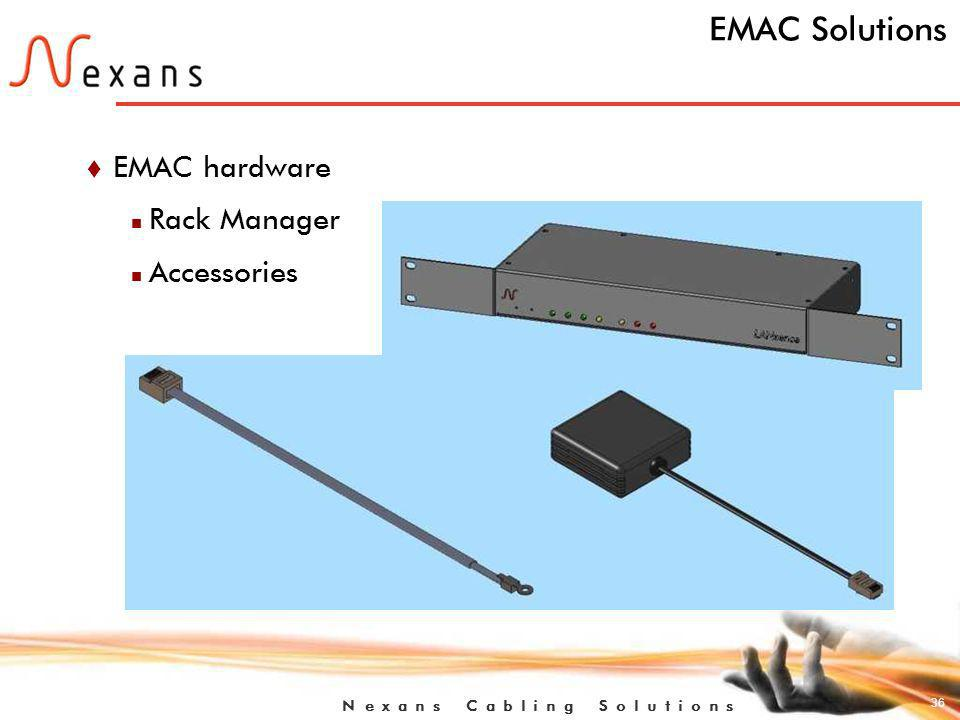 EMAC Solutions EMAC hardware Rack Manager Accessories