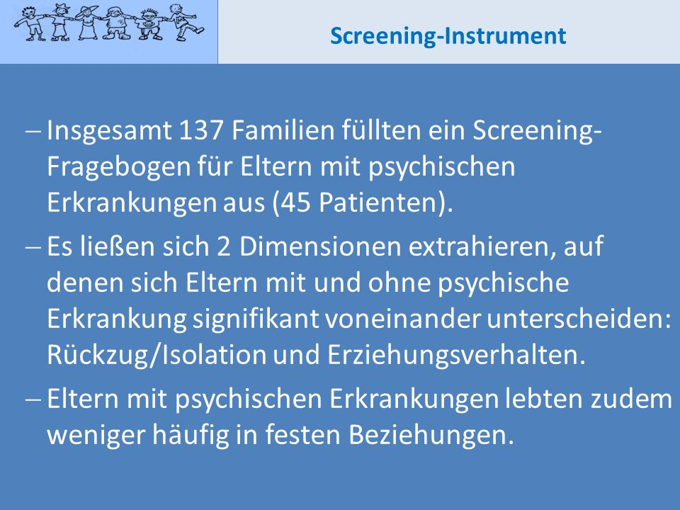 Screening-Instrument