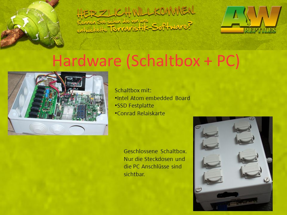 Hardware (Schaltbox + PC)